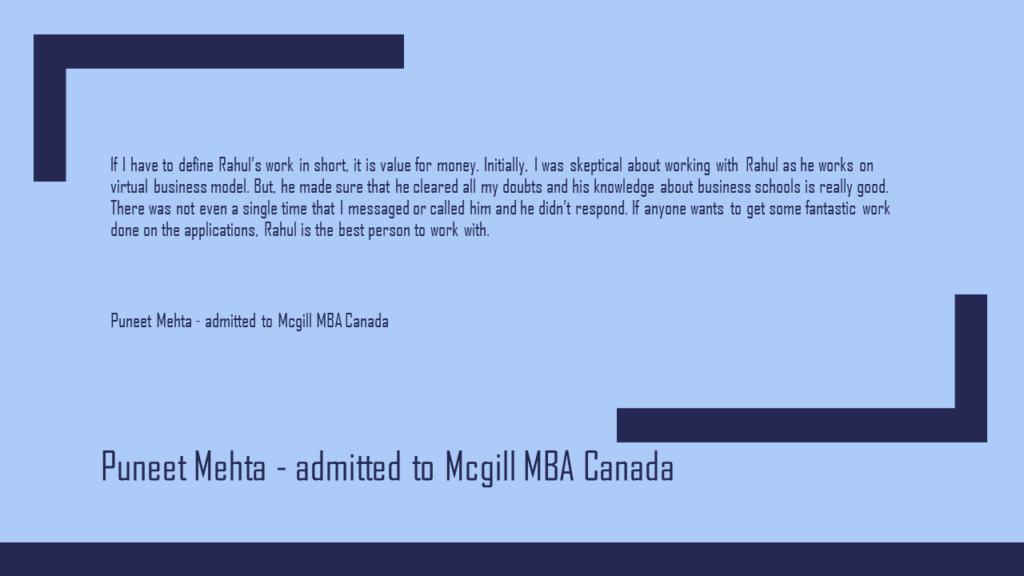 Best MBA Admissions Consultants