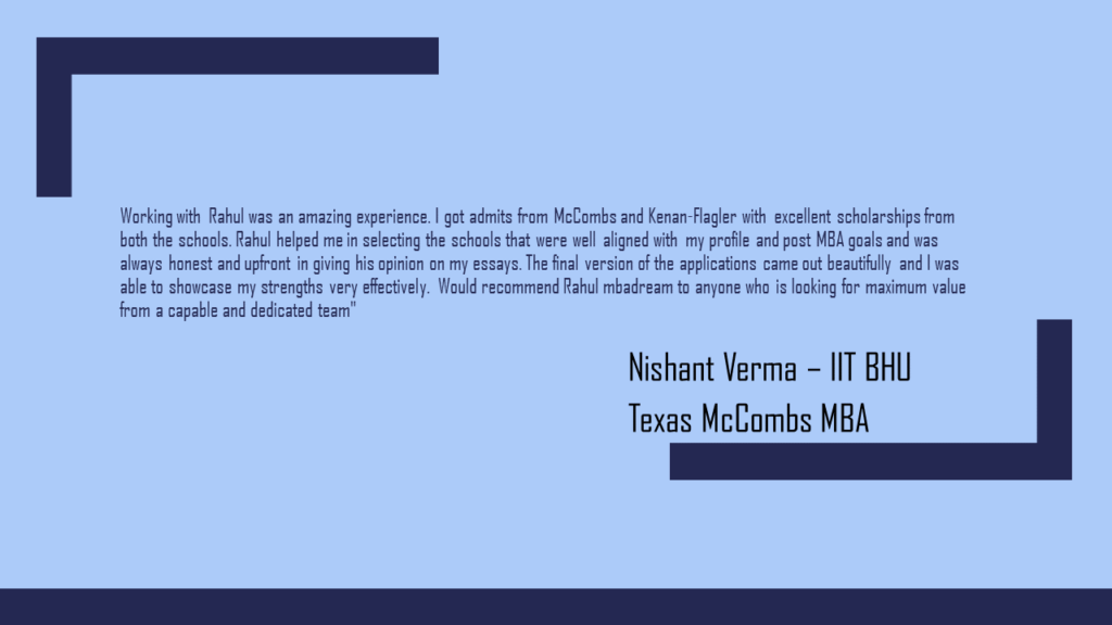 MBA Admission Consultants Reviews
